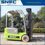Mini Forklift 1.8ton elétrico Three-Wheel de China