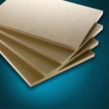 Feuille en plastique en bois de coextrusion de PVC de la taille 1220*2440mm Thinckness 3mm-22mm