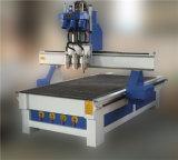 Máquina de gravura três de madeira Process de China 1325 de Jinan