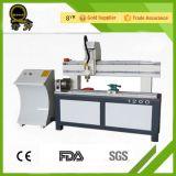 Máquina barata 6090 com o router giratório do CNC