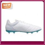 Chaussures blanches du football de couleur de modèle neuf de mode
