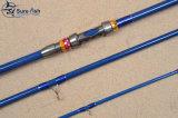 Frete Grátis Japão 1k Woven Carbon Surf Fishing Rod