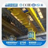 Guindaste aéreo da viga dobro de 20 toneladas