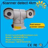Automobile termica multifunzionale della rete della macchina fotografica di rilevazione 4km PTZ del sensore dello scanner montata