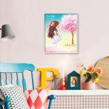 工場直接卸し売り新しい子供DIYの水晶現代花の壁のバックラムのホーム装飾K-033