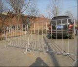 Barrière en acier galvanisée de route de sécurité routière/barrière piétonnière