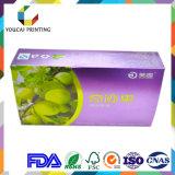Rectángulo de empaquetado de papel del color de la medicina
