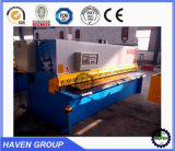 QC11K-8X3200 CNC hydraulisches Guillotine Shearing Machine, CNC Hydraulc Steel Plate Cutting Machine