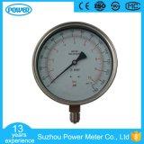 6 indicateur de pression d'acier inoxydable de pouce 150mm