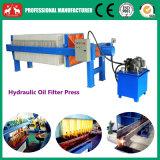Máquina de imprensa de filtro de óleo da placa hidráulica de óleo de cozinha 2016