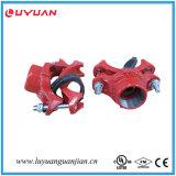 FM/UL Certification Approved를 가진 마디 모양 Iron Threaded Mechanical Tee
