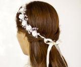 Устраивающих свадьбу головная стяжка Prom Crystal Princess Crown Tiara регулировки Headpiece аксессуары