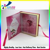 Caixa de presente florescente superior do papel da alta qualidade