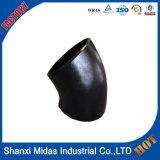Aço Carbono bumbum soldadas de tubulação Sch60 Elbow 6 polegadas