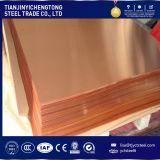 Folha de cobre C1100 C1200 C1220 Placa de cobre