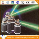 Câble d'alimentation isolé par PVC de cuivre de conducteur