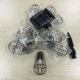 Solar-LED-Garten-Weinlese-Rahmen-dekorative Lampe (RS1007)