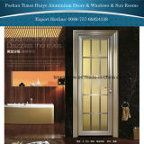 Ornamentalが付いている室内装飾のためのアルミニウム開き窓のドア
