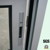 粉のラッチロックが付いている上塗を施してある熱壊れ目のアルミ合金のWindows、アルミニウムスライディングウインドウK01053