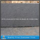 Ardesia nera/grigia naturale della pietra della coltura per la pavimentazione delle mattonelle di /Roof