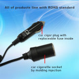 Car Pump를 위한 12V 24V Automobile Cigarette Lighter Power Wire