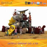 Pirate Ship Series Kids Outdoor Playground Slide (CS-11701)