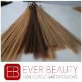 V-Capovolgere l'estensione peruviana dei capelli umani dei capelli della cheratina