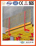 Corrimão de laje de sistema para proteção de borda
