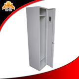 Acier de modèle simple 1 casier de rangée de la porte une