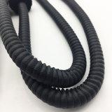 boyau noir en bois de Shisha de narguilé de modèle de tête en métal de 1.8m (ES-HH-010-3)