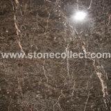 漢籍のブラウンの大理石のタイルおよび平板