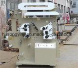 La flexographie Machine pour l'étiquette de ruban, Satin étiquette (2+1)
