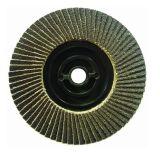 Roda de moagem com disco de aletas abrasivos 100mm X 16mm