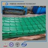 Gewölbtes Dach-Stahlblech mit Cer ISO färben