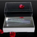 White Base (BTR-A2083)の明確なAcrylic Jewelry Display Box