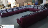 Mobilia del salone, sofà moderno, sofà del tessuto di figura di U (NG920)