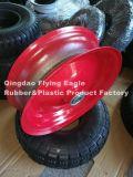 С разделами 400-8 металлические Rim для резиновые колеса тележки