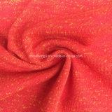 Hacci C/P 60/40, 260GSM, tessuto di lavoro a maglia francese del Terry del Melange per il maglione