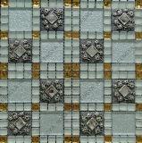 新デザインガラスモザイク、樹脂ミックスアートモザイク、ガラスモザイクタイル