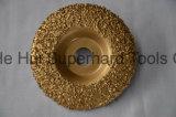 콘크리트를 위한 단단한 합금 컵 바퀴를 놋쇠로 만드는 진공