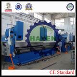 A maquinaria do freio da imprensa do CNC usou a máquina de dobra do aço inoxidável da placa do ferro da curvatura do metal de folha
