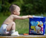 SuperAbsorbent Polymer ist Applied für Diapers