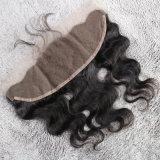 赤ん坊の毛を搭載するRemyの毛ボディ波のフリースタイルのレースのFrontal