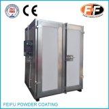 Forno elétrico personalizado do grupo do revestimento do pó com câmara de ar do aquecimento