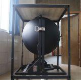 Sphère intégrante du modèle 1m 1.5m de brevet pour le spectroradiomètre de C.P. de lumen
