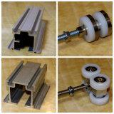 Hardware, pista e rullo operabili della parete
