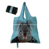 統合されたドローストリングの袋ポリエステル食料雑貨のトートバックは卸し売りする