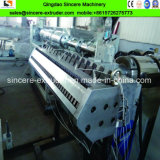 Ligne glacée composée d'extrusion de production de tuile de toit de PVC asa