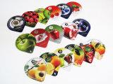 Coperchi del yogurt con la pellicola facile della buccia dei pp per la tazza di plastica