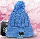Weihnachtsgeschenk Kintted drahtloser Bluetooth Beanie-Hut-Kopfhörer-Kopfhörer-Lautsprecher
